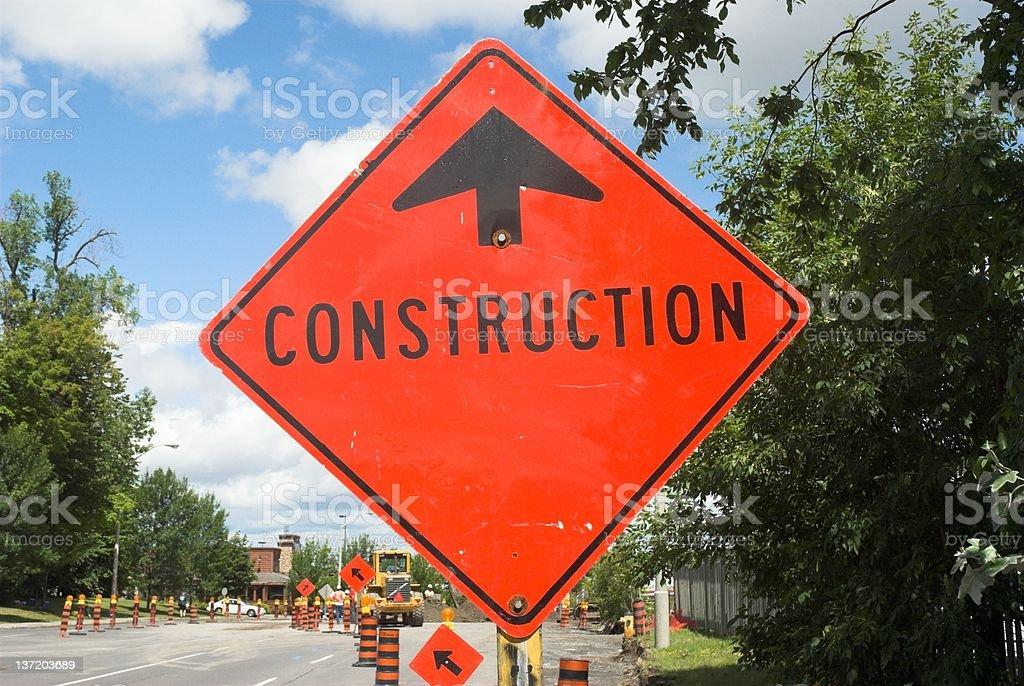 Under construction. royalty-free stock photo