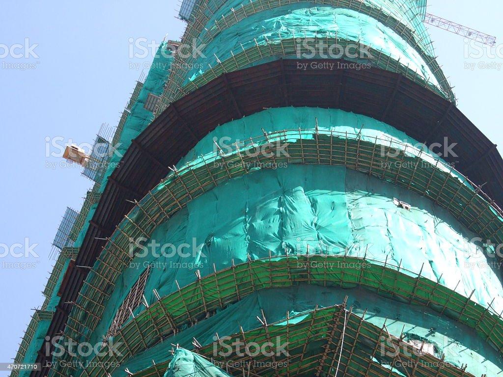 En construcción foto de stock libre de derechos