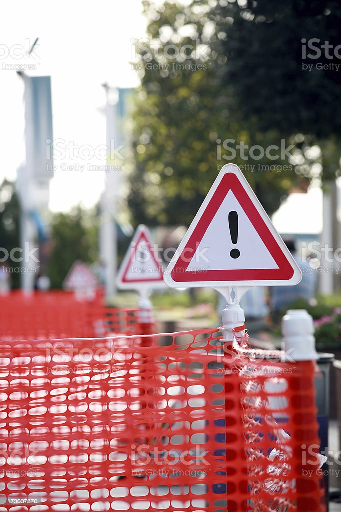under construction series royalty-free stock photo