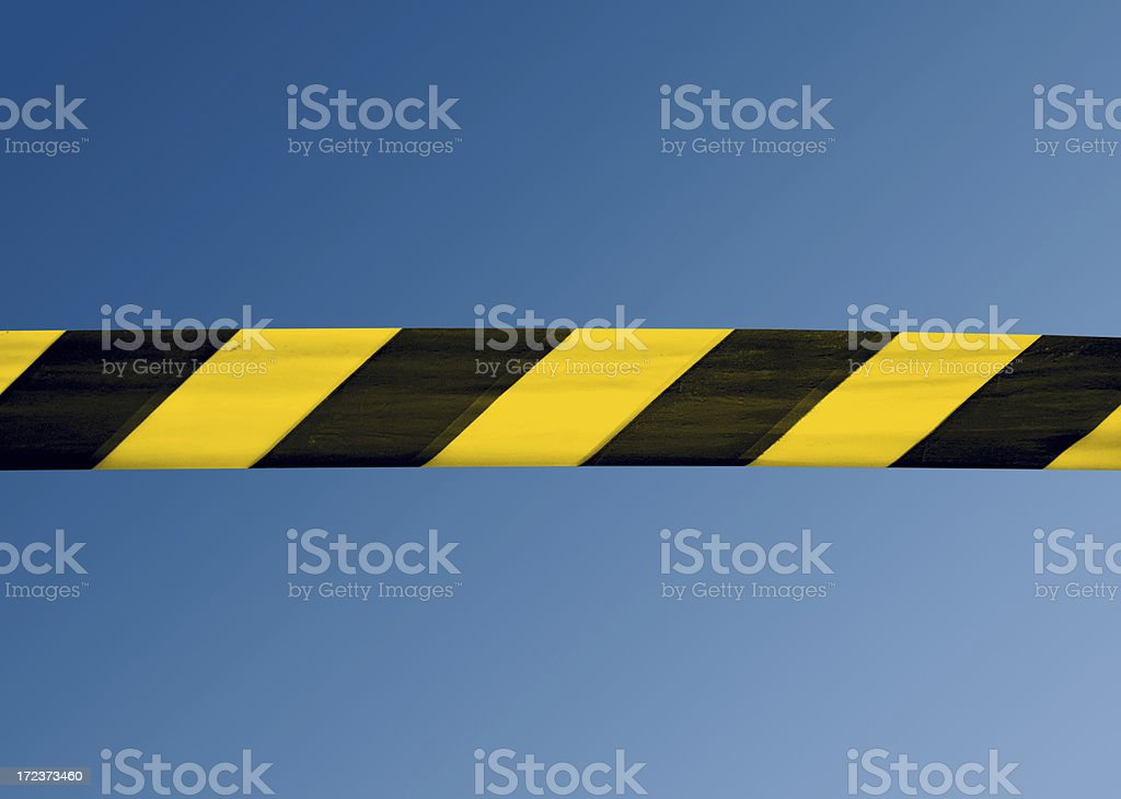 Under Construction Tape stock photo