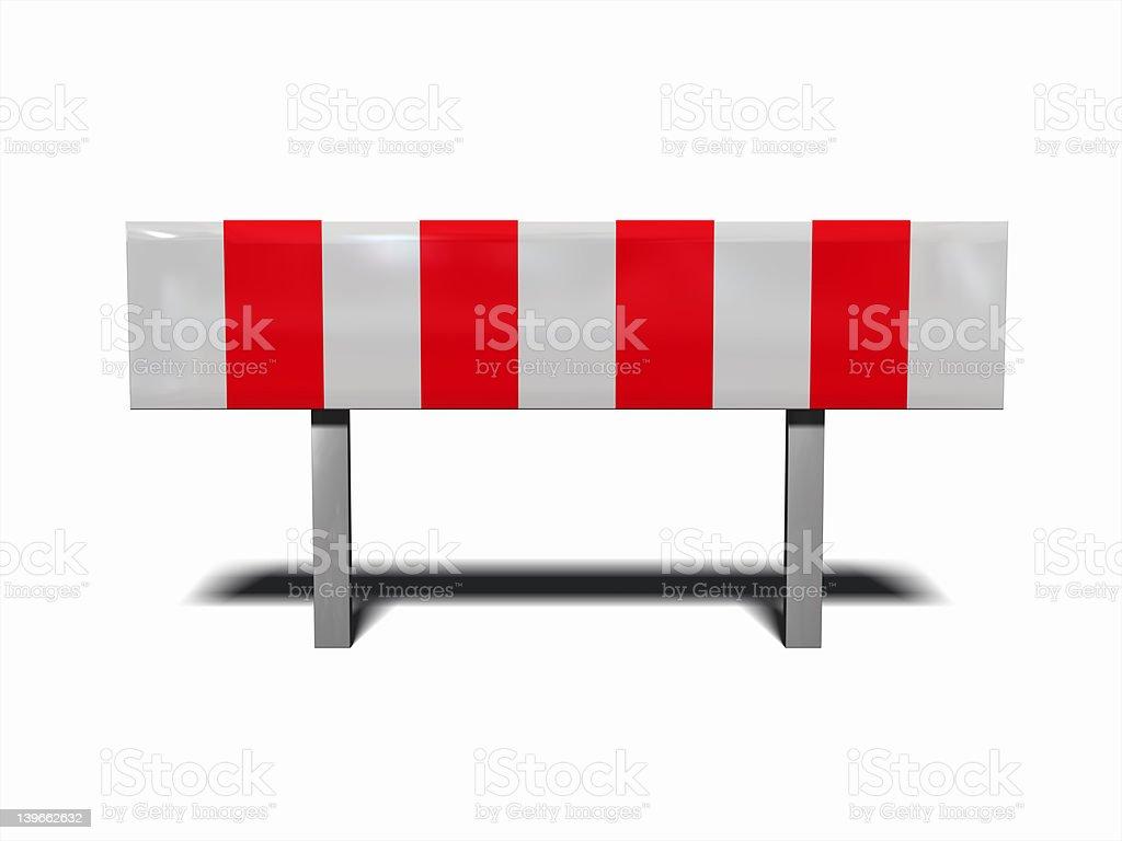 under construction - traffic warning royalty-free stock photo