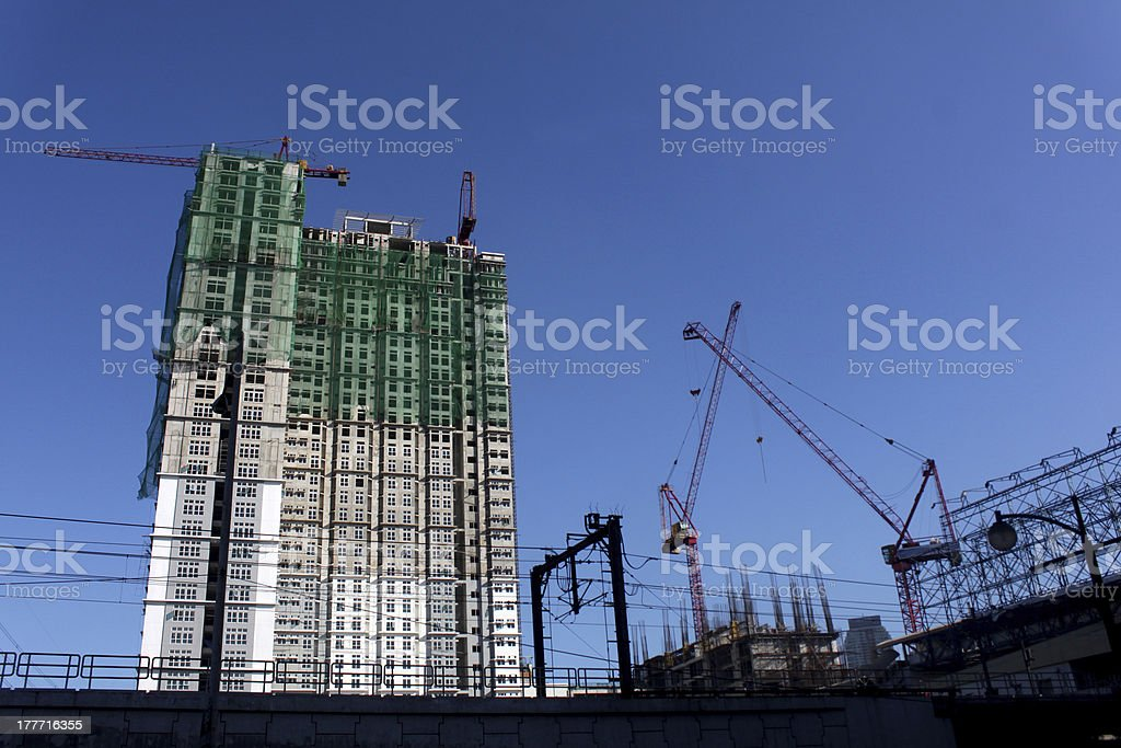 Under Constructionj stock photo