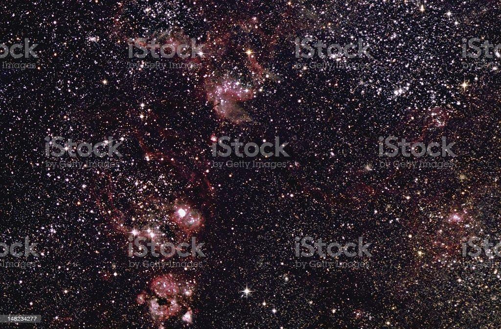 Under Dark Australian Skies stock photo