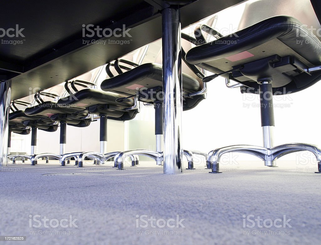 Under desk royalty-free stock photo