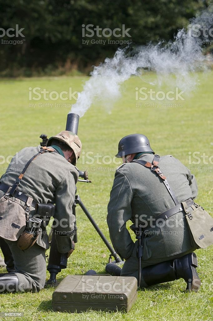 Under Fire stock photo