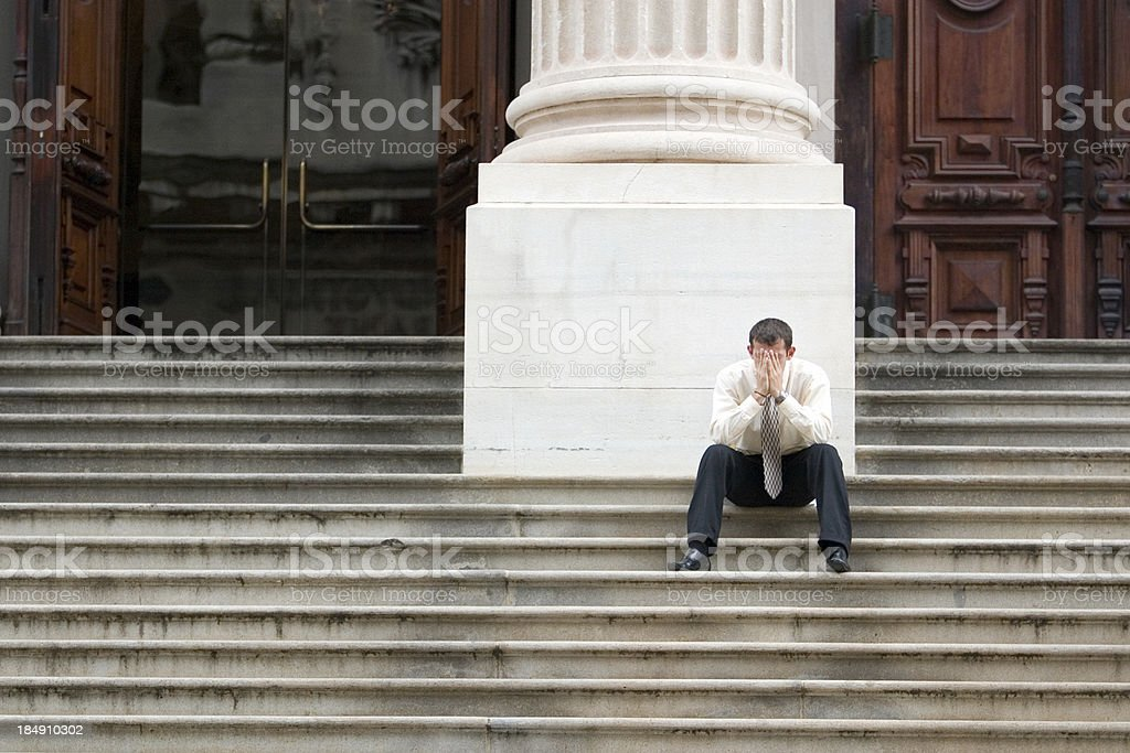 Under Stress royalty-free stock photo