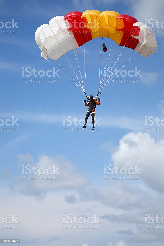Under the blue sky stock photo