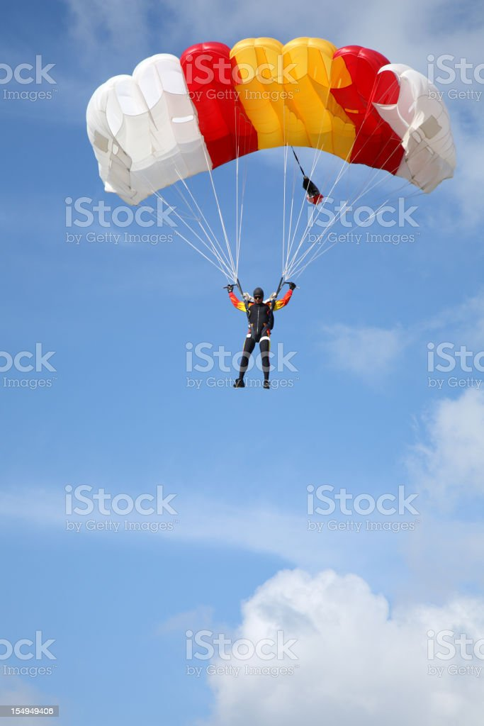 Under the blue sky royalty-free stock photo