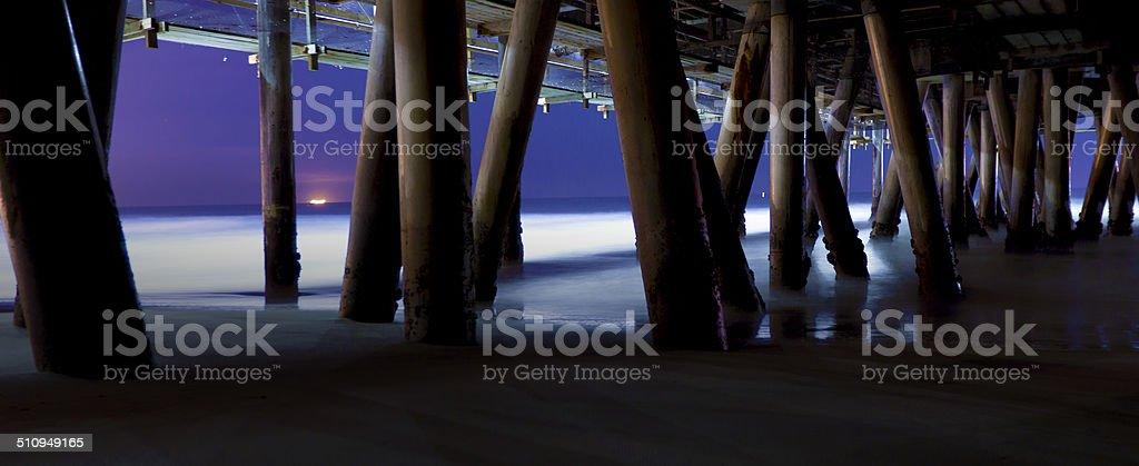 Under the Boardwalk 2 stock photo