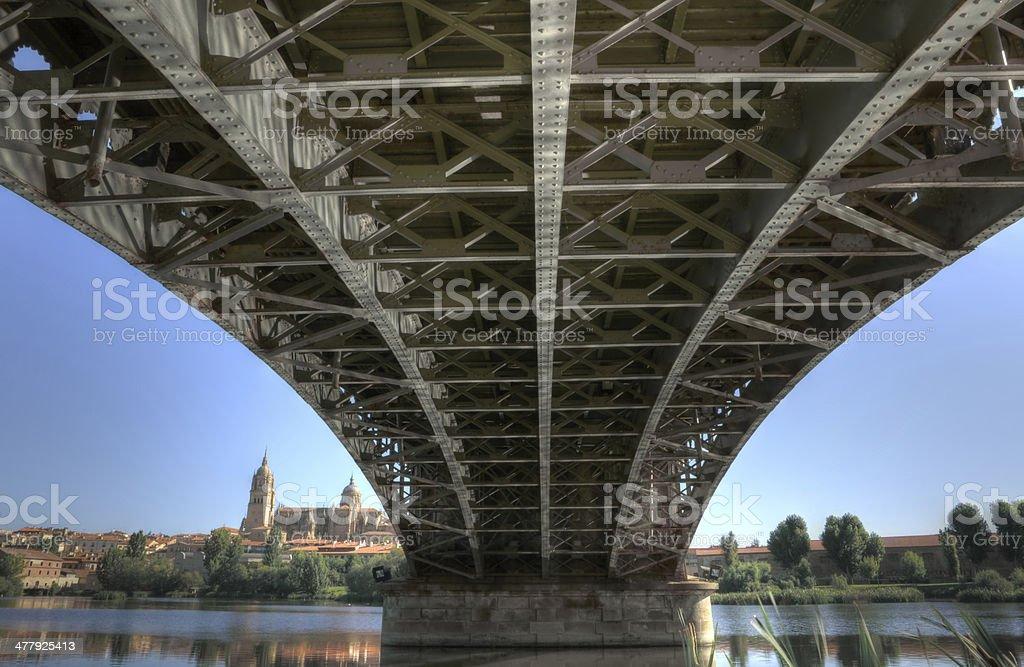 Under the Bridge royalty-free stock photo