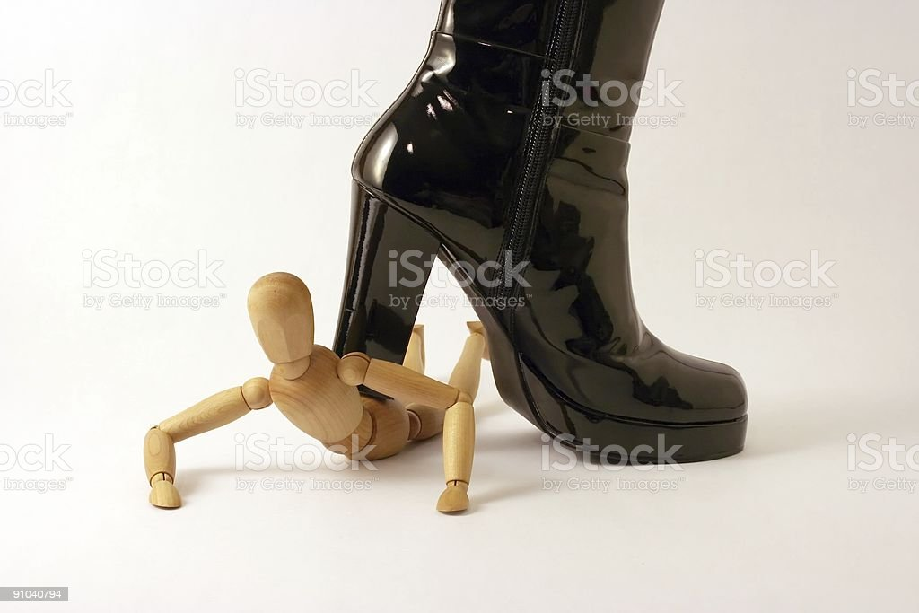 Under the Heel stock photo