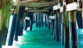 Under the Newport Beach Pier