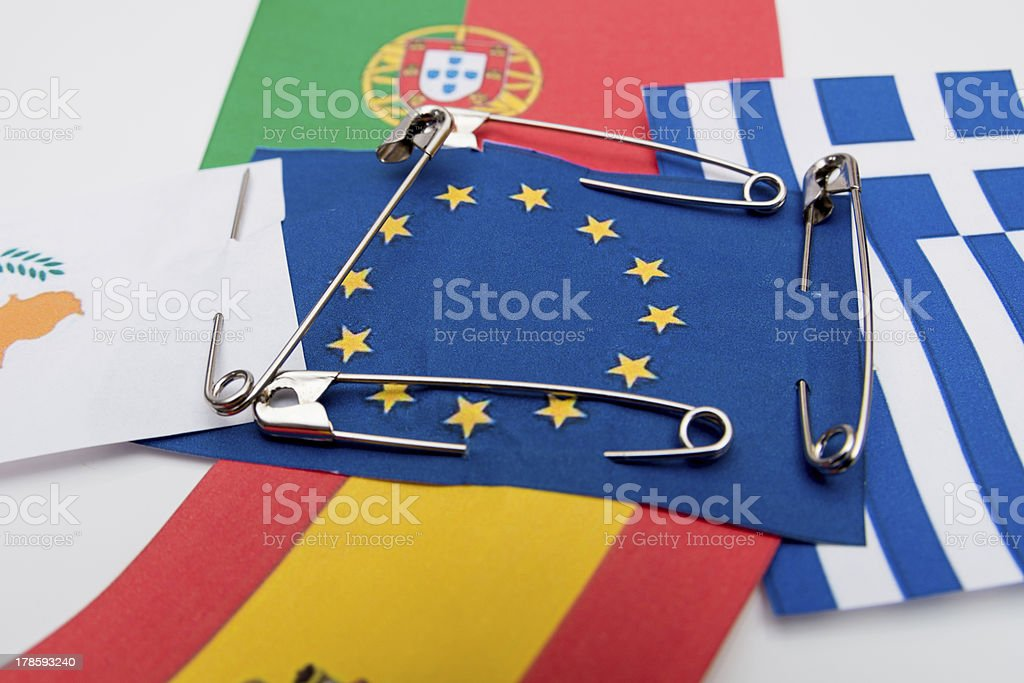 Under the protection of EU stock photo