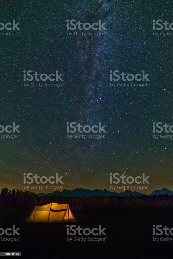 Under the Stars stock photo