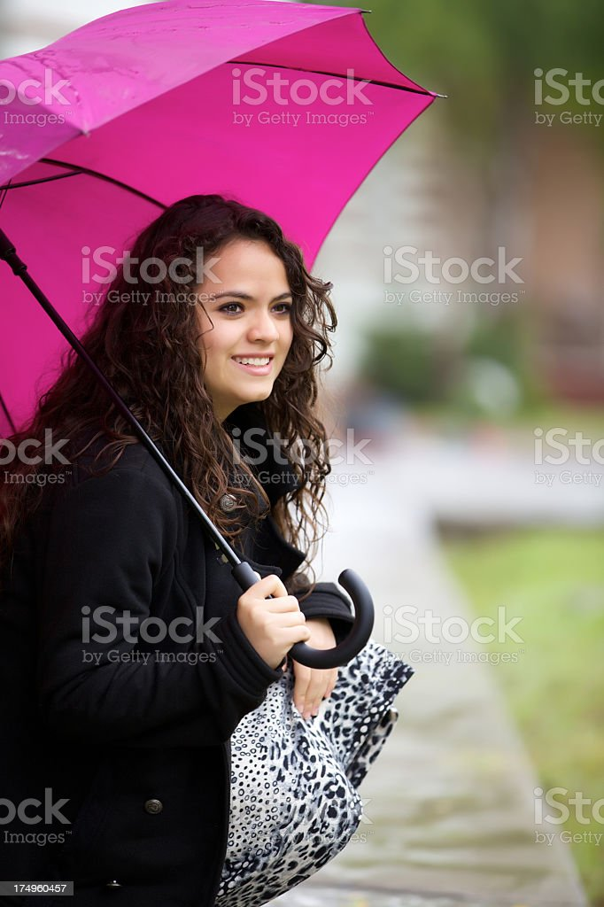 Under the Umbrella royalty-free stock photo