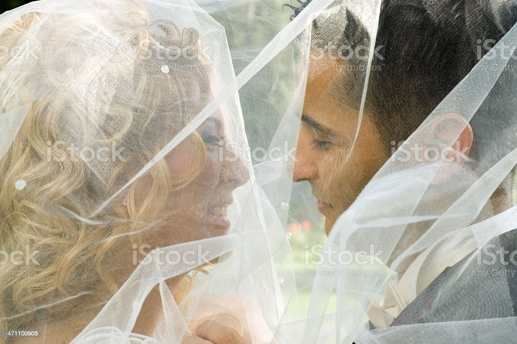 under the veil royalty-free stock photo