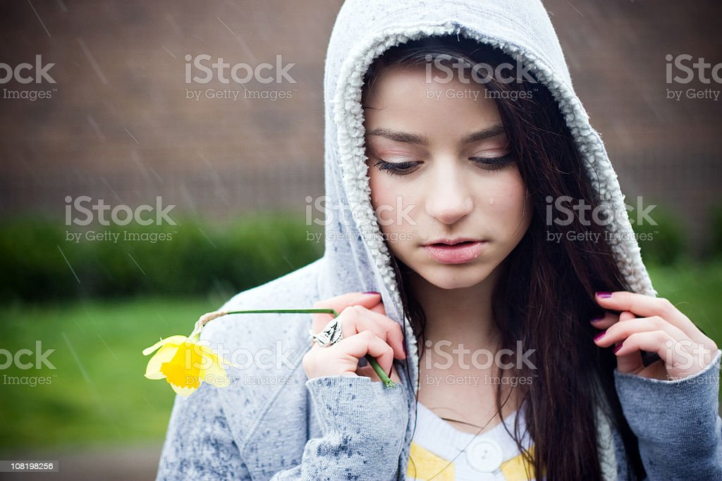 Under the weather royalty-free stock photo
