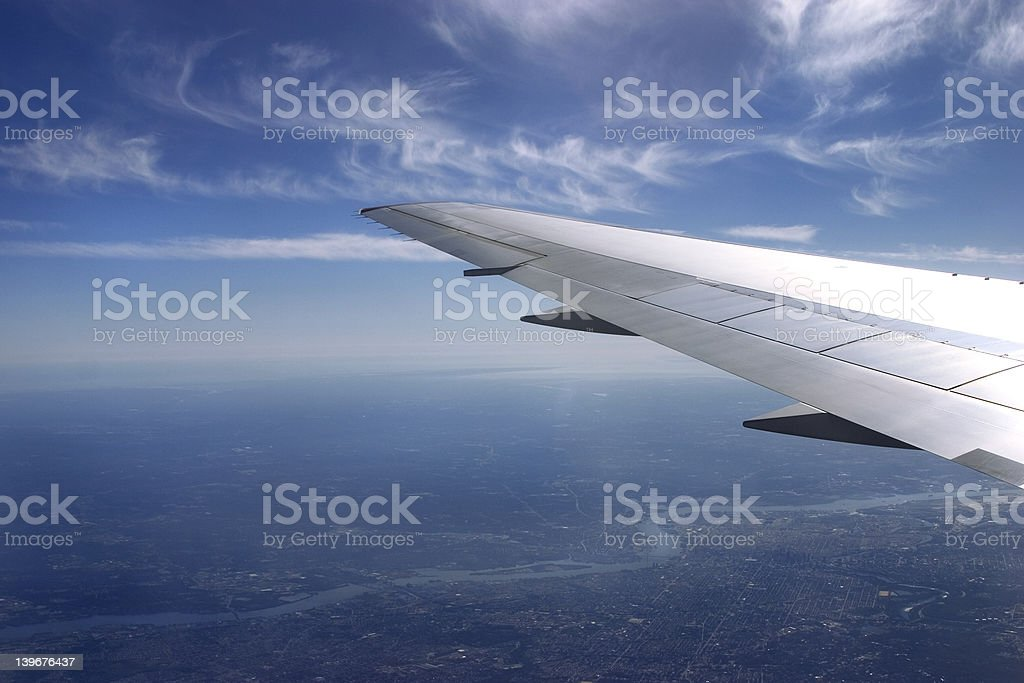 under the wing royalty-free stock photo