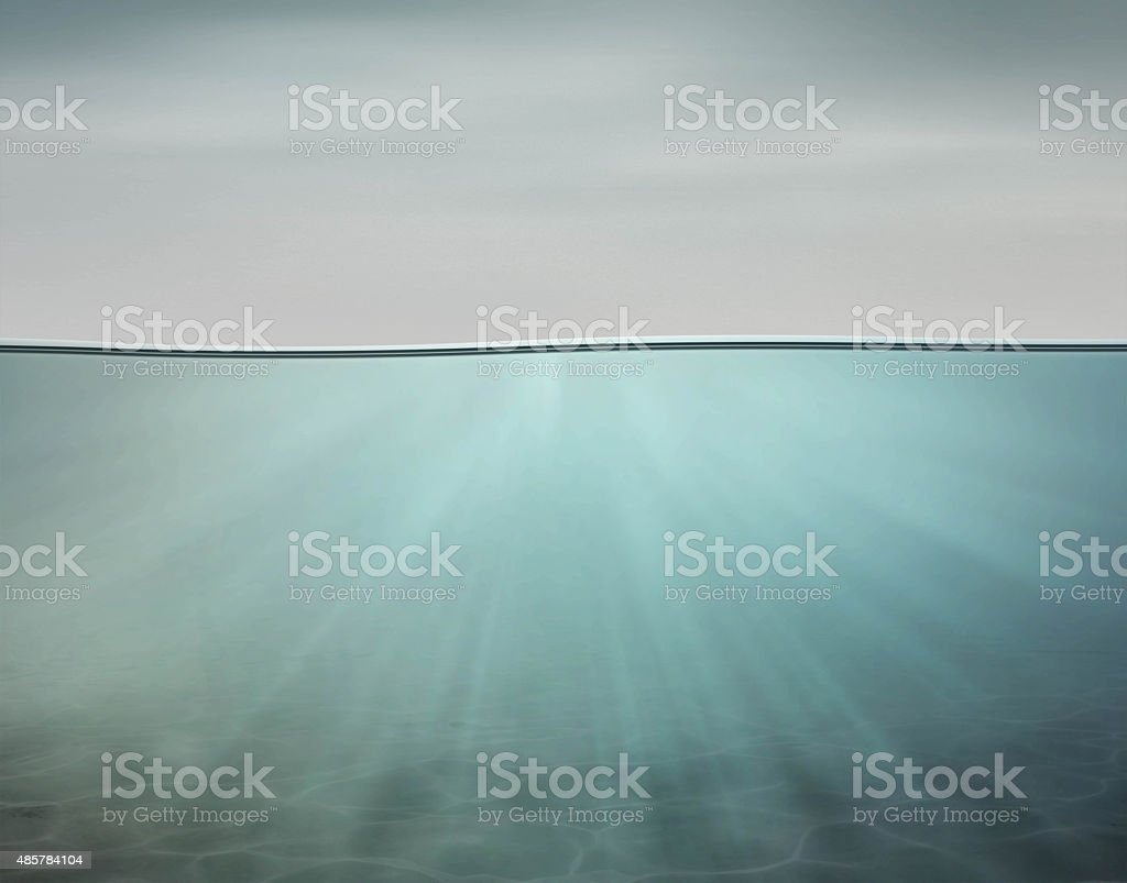 Under Water stock photo