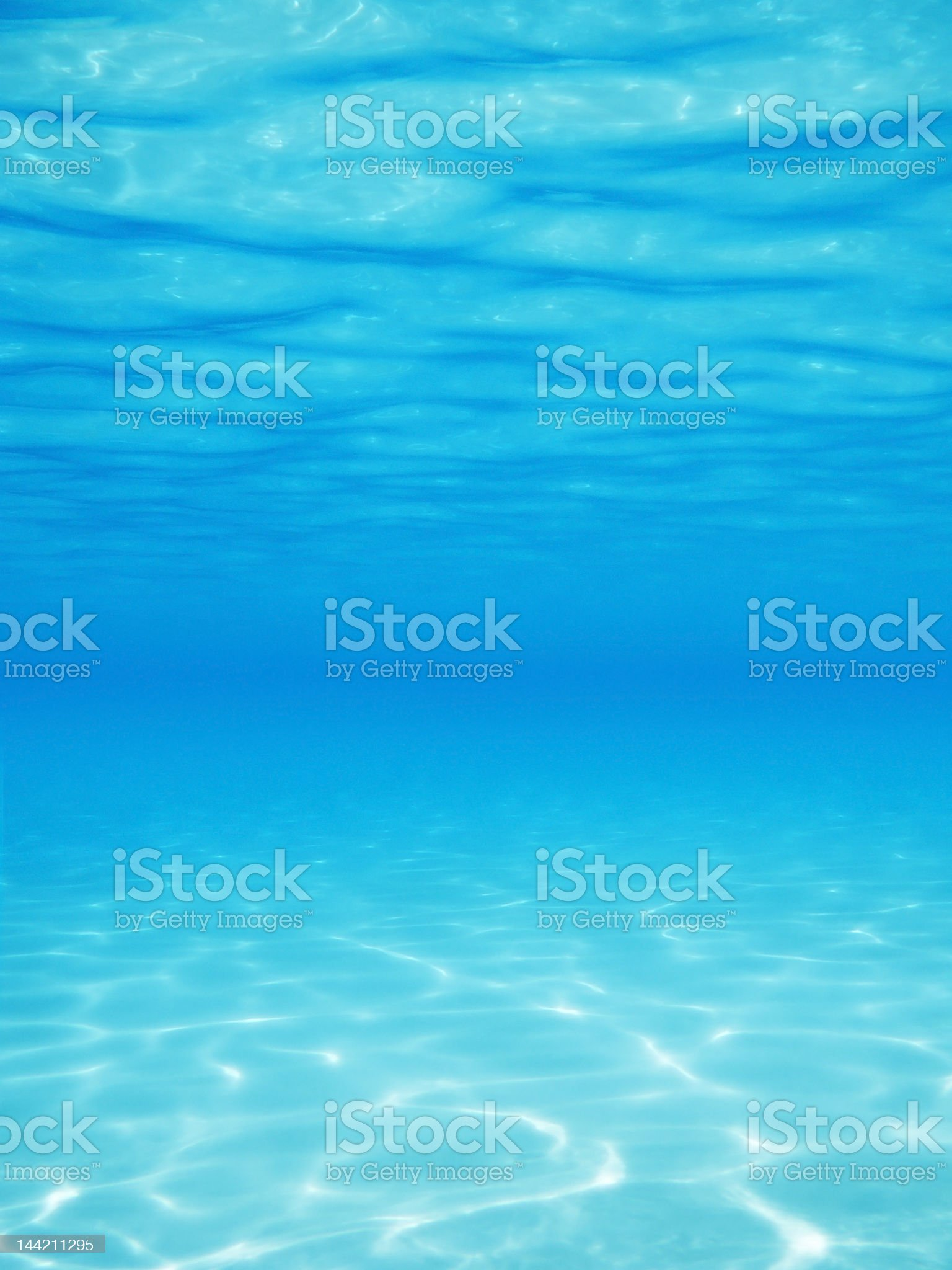 Under Water Vertical royalty-free stock photo