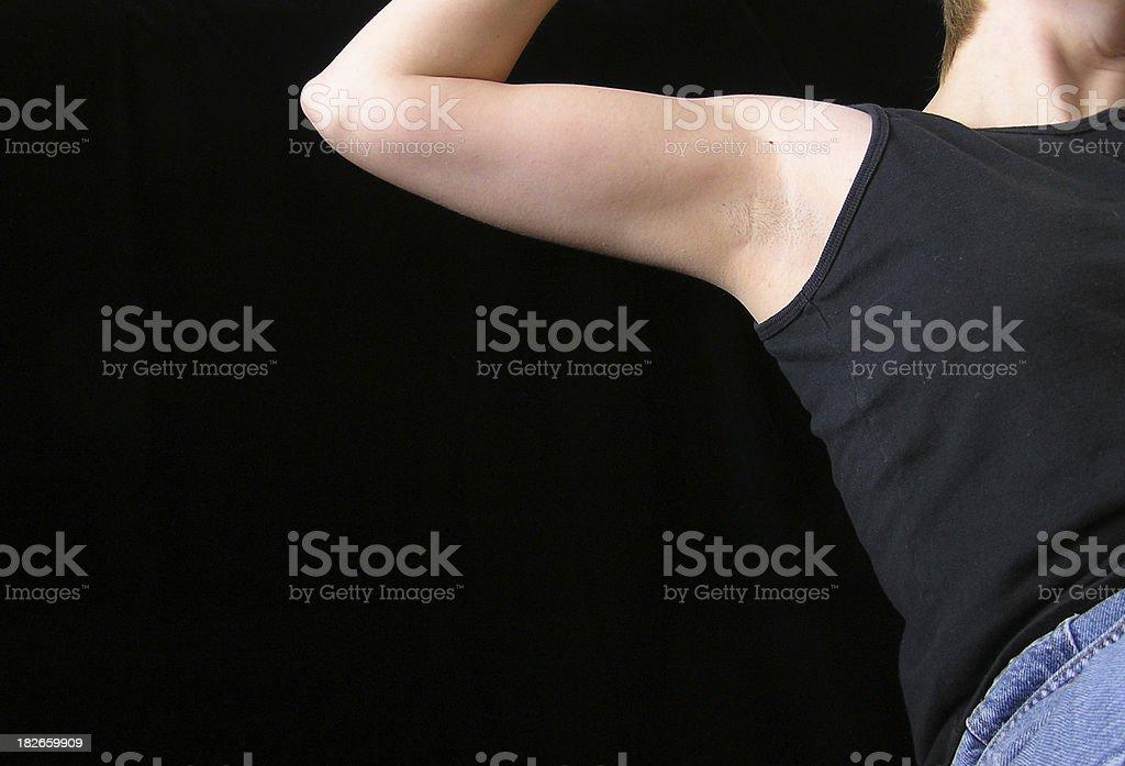 Underarm stock photo