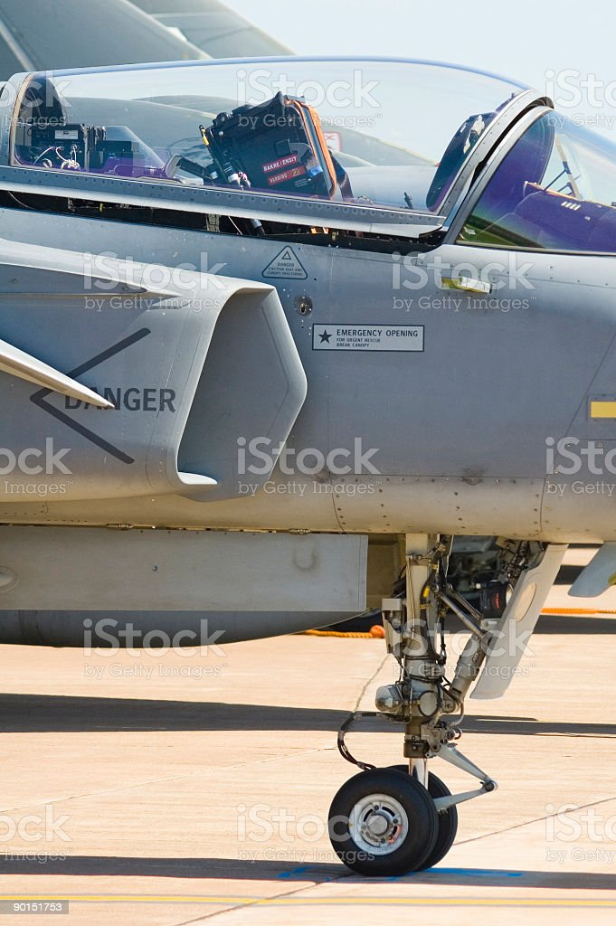 Undercarriage and canopy stock photo