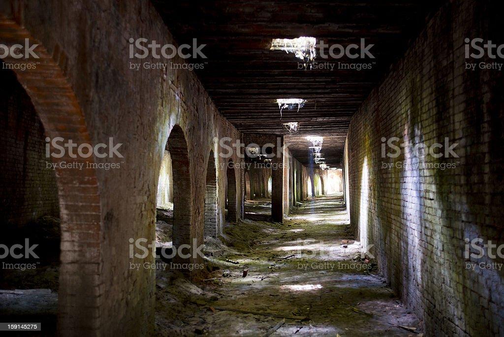 Undercroft stock photo