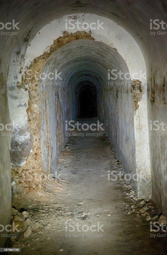 underground bunker royalty-free stock photo