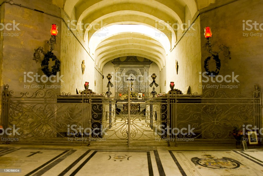 Underground Burial royalty-free stock photo