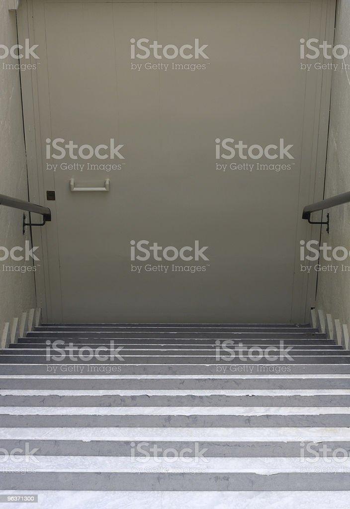 Underground Door stock photo