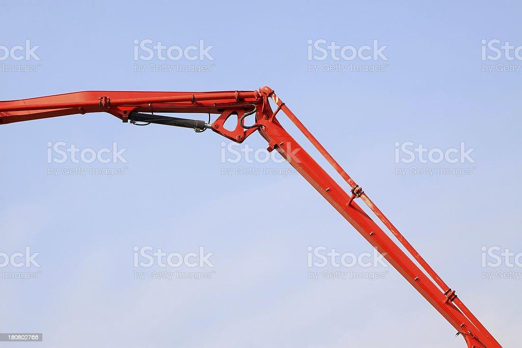 underground drainage pipeline construction royalty-free stock photo