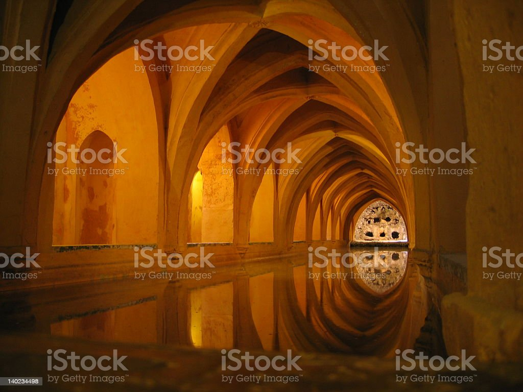 Underground in Sevilla royalty-free stock photo