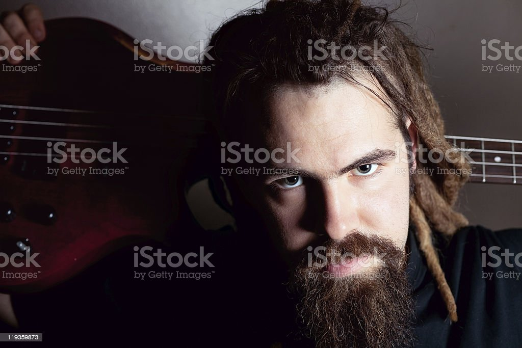Underground Musician royalty-free stock photo