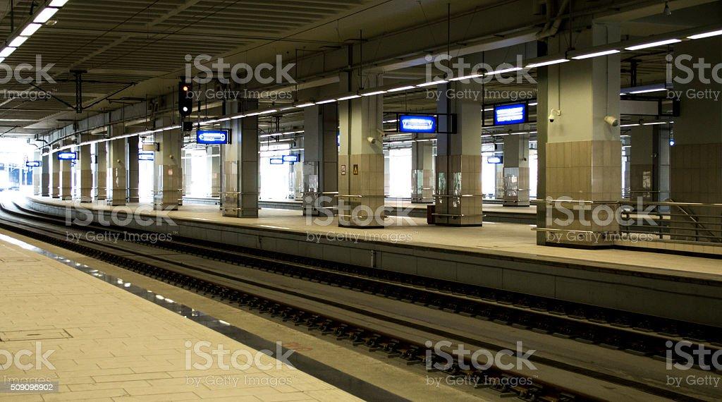 Underground raiway in Belgrade, Serbia