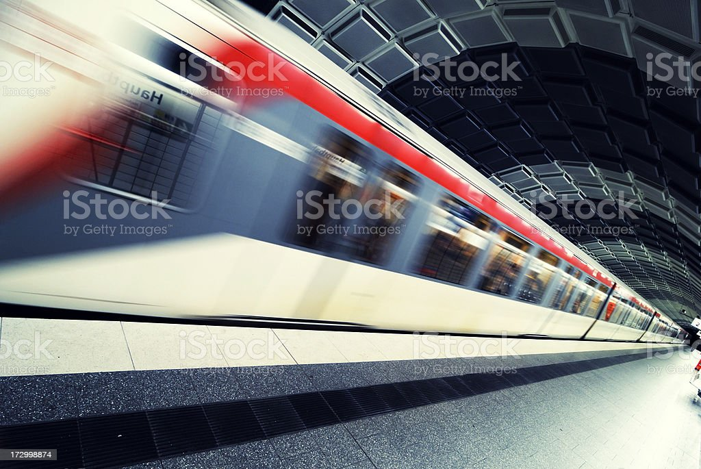 underground speed stock photo