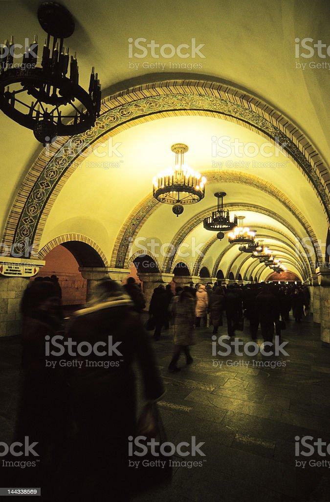 Underground Travel royalty-free stock photo