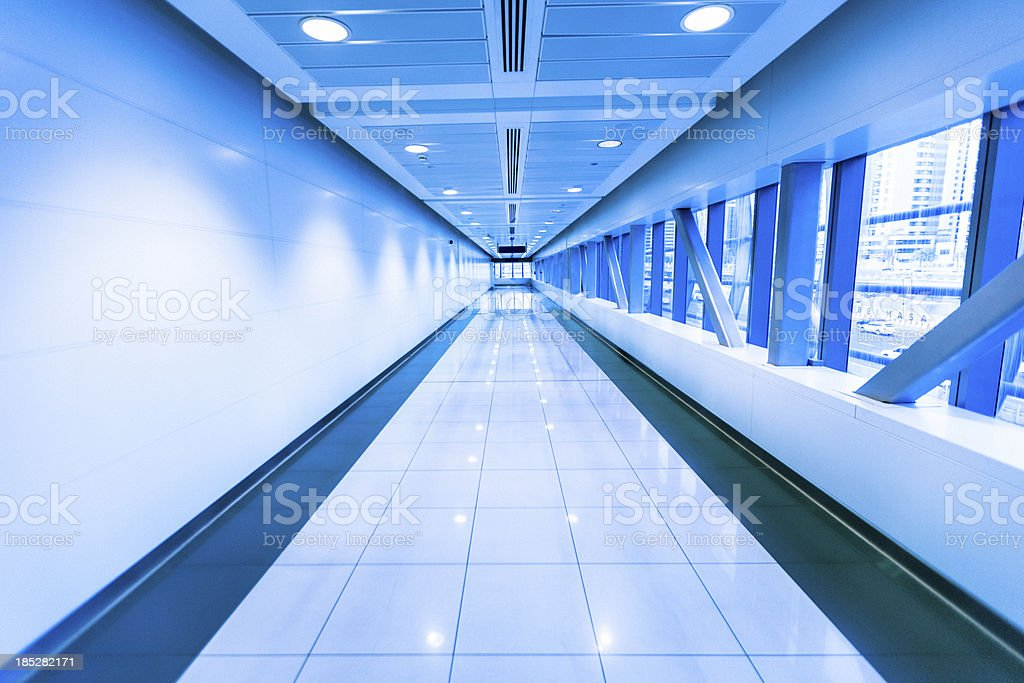 Underground Tunnel in London royalty-free stock photo