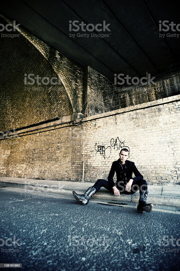 underneath the arches royalty-free stock photo