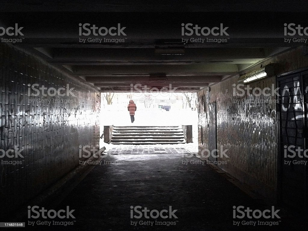 Underpass. royalty-free stock photo