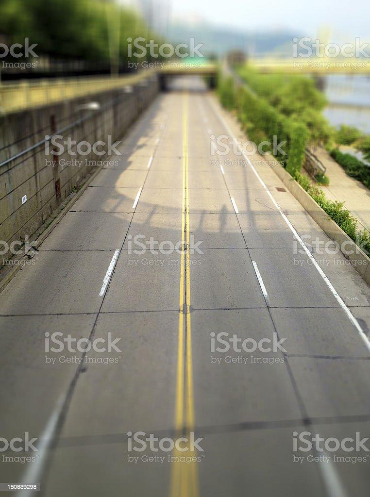 Underpass stock photo