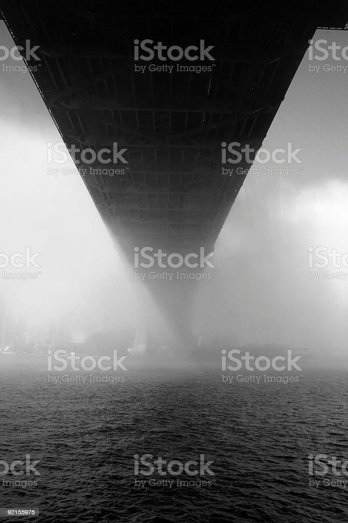 underside of fog royalty-free stock photo