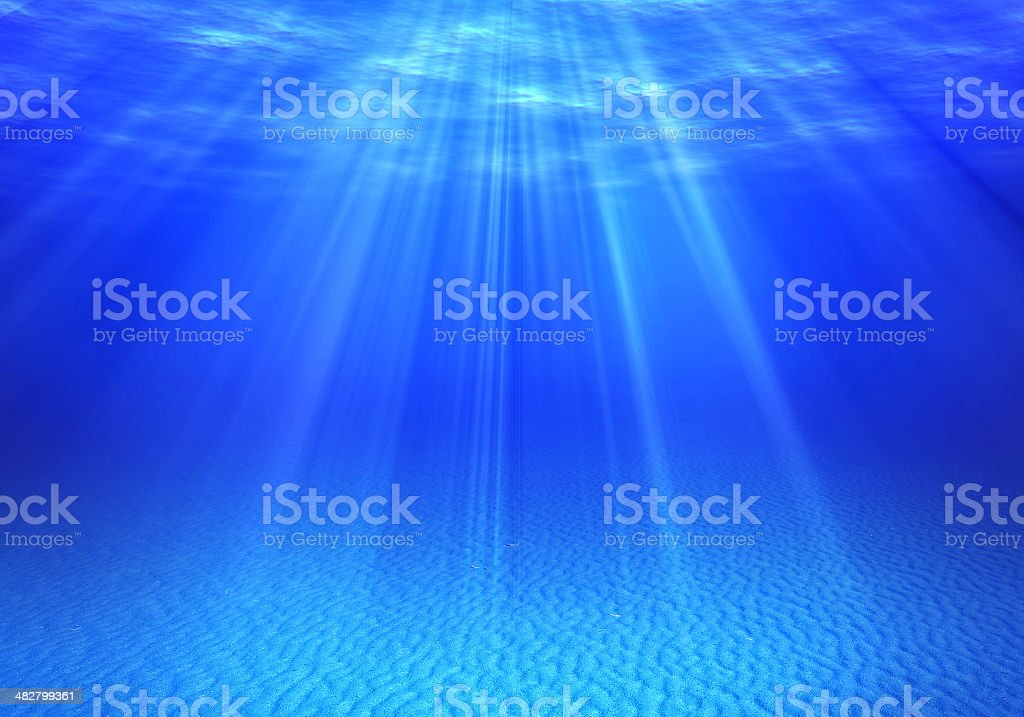 Underwater backgrounds royalty-free stock photo