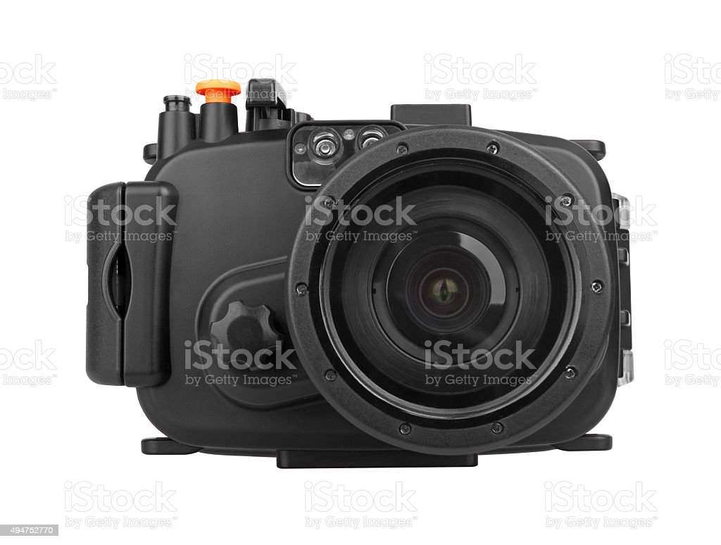 Underwater Camera stock photo