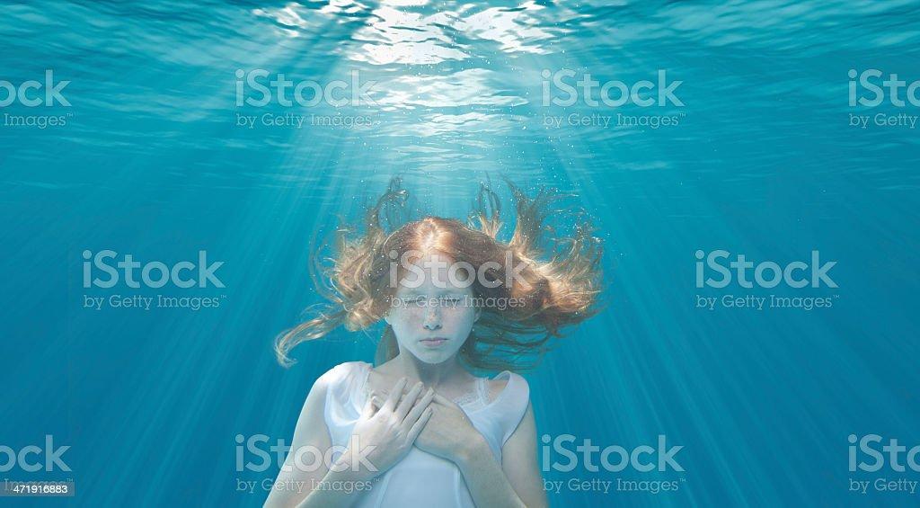 Underwater Dreaming stock photo