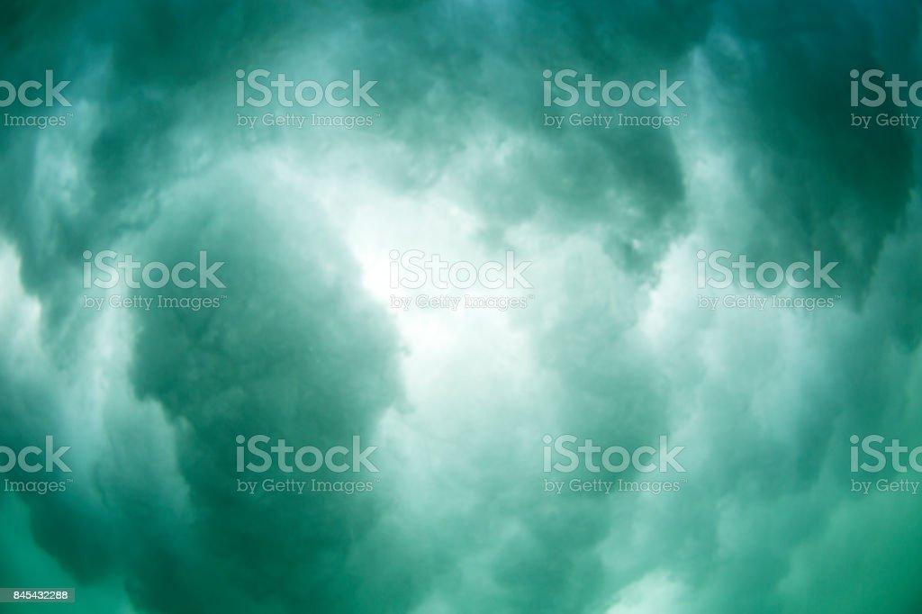 Underwater Turbulence stock photo