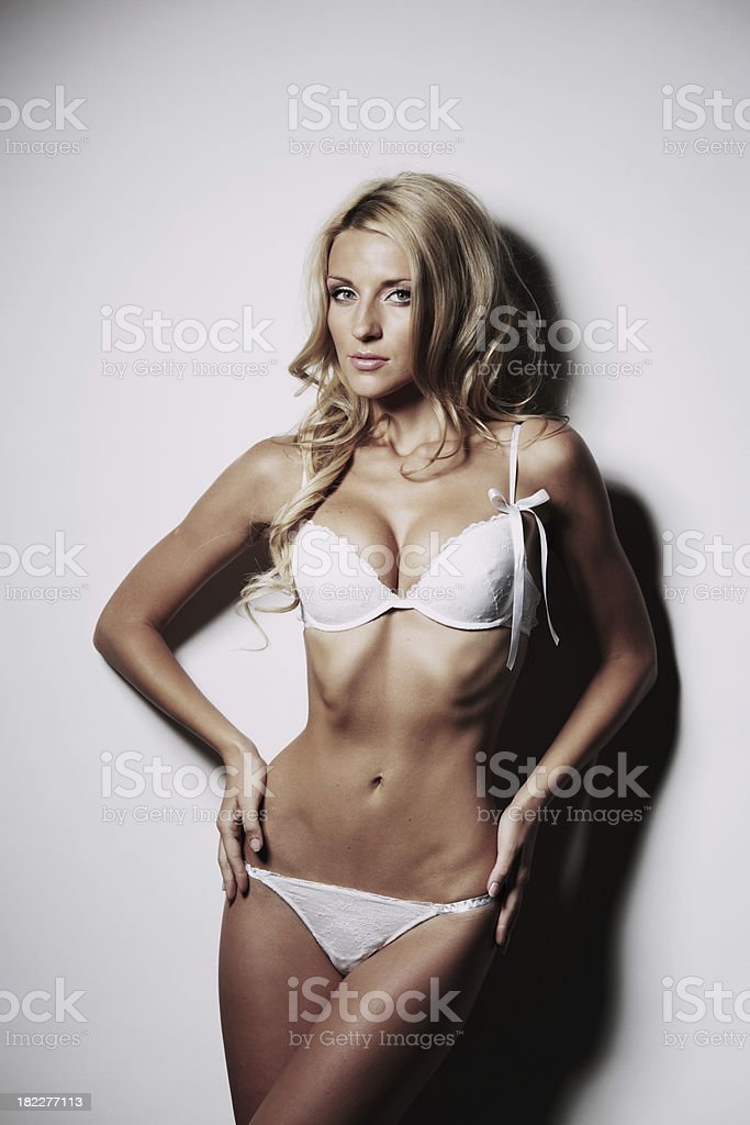 underwear woman royalty-free stock photo