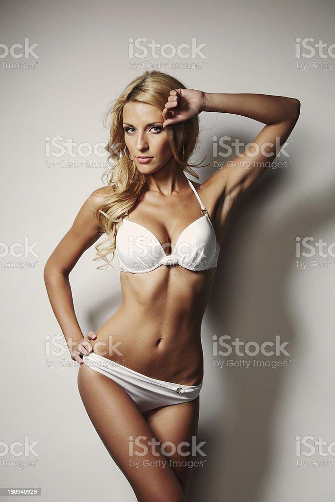 underwear woman royalty-free stock photo