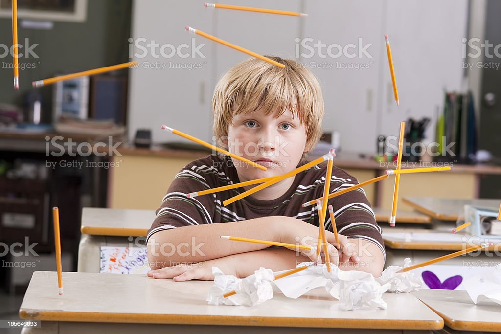 Undivided Attention stock photo