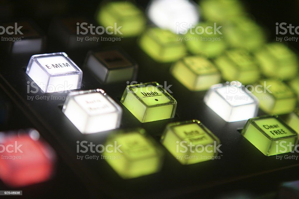Undo button royalty-free stock photo