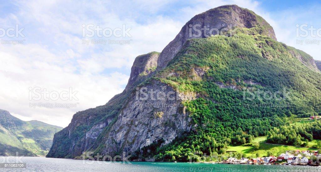 Undredal, Norway stock photo